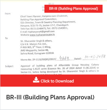 BR-III (Building Plans Approval)